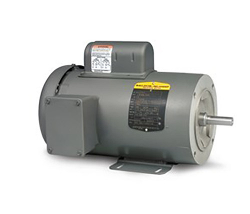 CL3504, 1/2HP Single Phase Baldor Electric  Motor 56C Frame Footed (New)