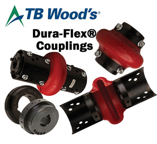 WE10H2 Dura-Flex® Coupling Bored-To-Size Hub