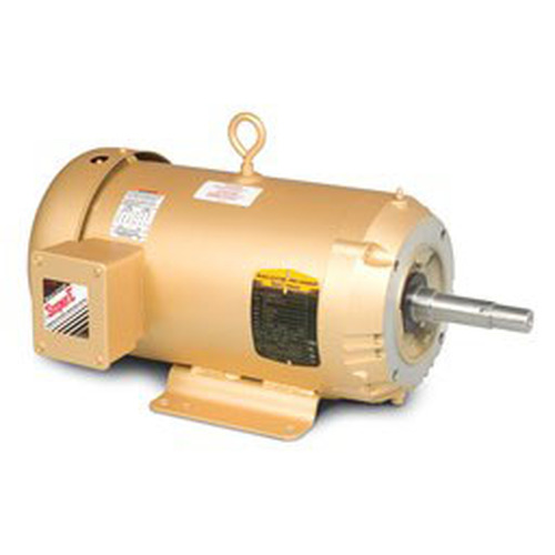 EM3613T, 5HP Three Phase Baldor Electric Compressor Motor 184JM (New)