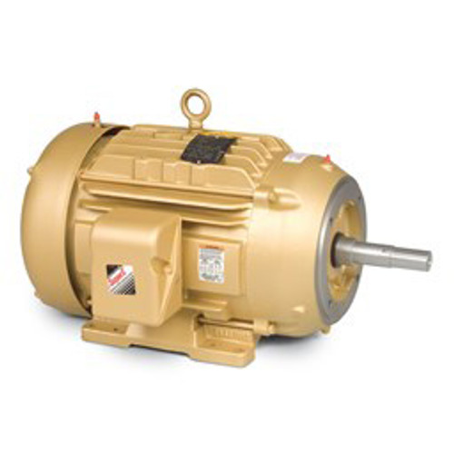 EM4107T, 25HP Three Phase Baldor Electric Compressor Motor 284JM (New)