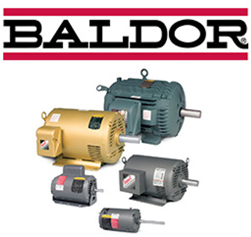 EM3584T, 1.5HP Three Phase Baldor Electric Compressor Motor 145T (New)
