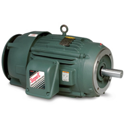 VECP3581T, 1HP Three Phase Baldor Electric Compressor Motor 143TC (New)