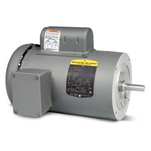 VL3503, .5HP Single Phase Baldor Electric Compressor Motor 56C (New)