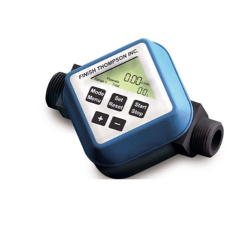 106609-2 Finish Thompson Batch Control User Adjusted Calibration Flow Meter FMBC-2000 Series