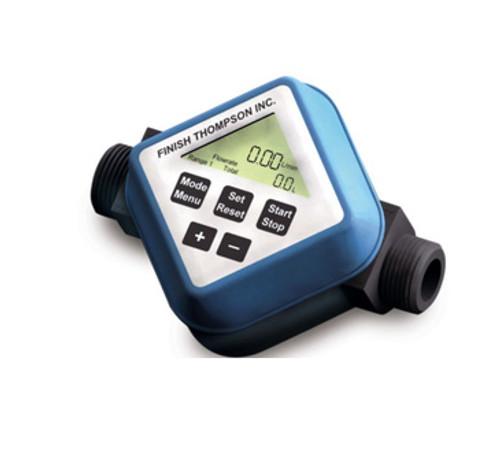 106609-6 Finish Thompson Batch Control User Adjusted Calibration Flow Meter, FMBC-2000 Series