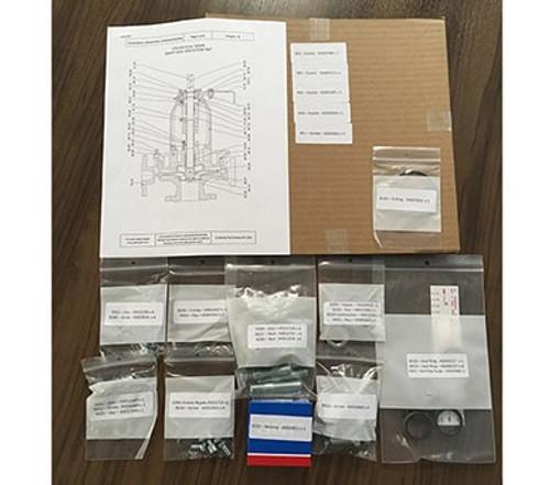 65011509 SIHI ZTN Bearing Kit with Lip Seals
