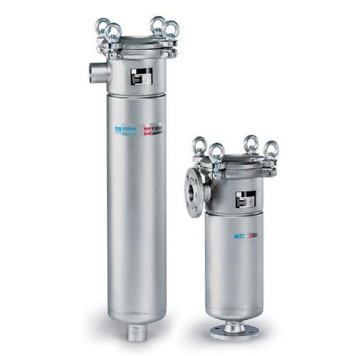 F3AVFB0005 Eaton Flowline Carbon Steel Side In/Bottom Out Filter Vessel