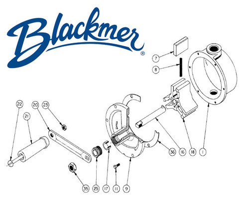 Blackmer Pump 090151
