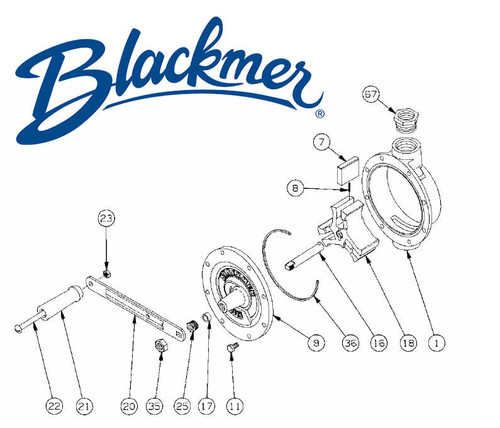 Blackmer Pump 210106