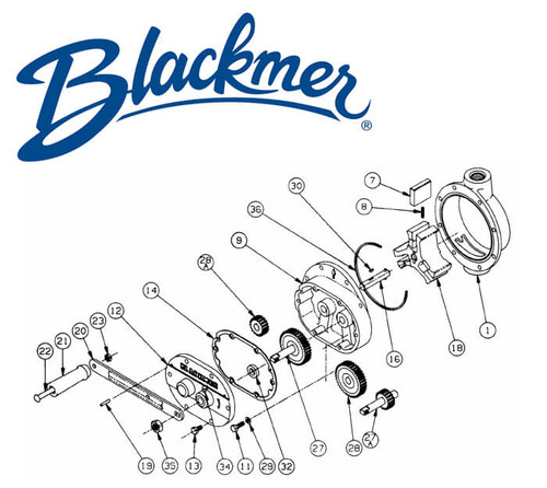 Blackmer Pump 710805