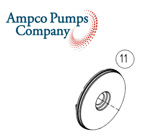 Ampco Pump Back Plate D