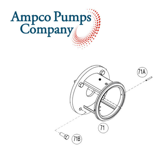 Ampco Pump Part Number 114E-18T-71C-SS