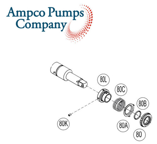 Ampco Pump Part Number 114D-80-3P