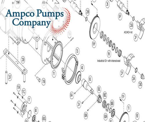 Ampco Pump Part Number 16-113-1/8X231G