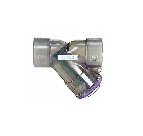"YS00125T 1-1/4"" Hayward PVC YS Series Y-Strainer"