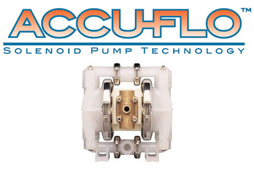 "Wilden 01-10272 1/2"" Accu-Flo Air Operated Double Diaphragm Pump"