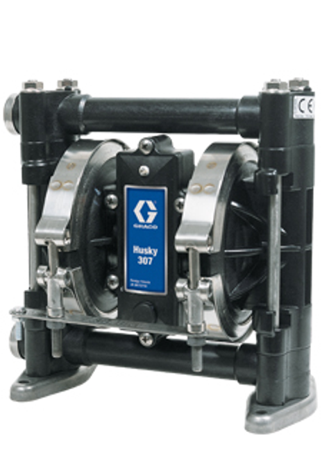 """D31277, 3/8"""" Graco Husky 307 Air Operated Double Diaphragm Pump"""