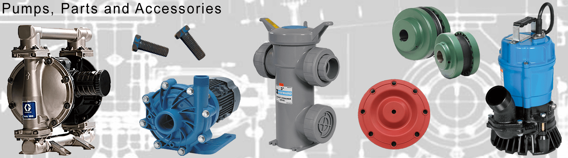 Pumps, Parts and Accessories