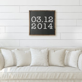 Special Date Sign For Wedding