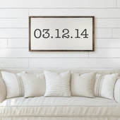 Custom Special Date Sign