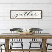 Gather Sign For Dining Room