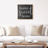Home Sweet Home Farmhouse Wood Sign