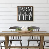 Farmhouse Life Wooden Sign