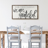 Family Sign For Dining Room