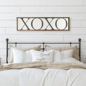 XOXO Wooden Sign For Master Bedroom