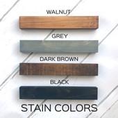 Initial Last Name Wood Sign
