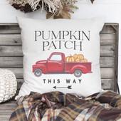 Pumpkin Patch Fall Pillow