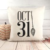 Halloween October 31 Pillow