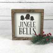 Jingle Bells Wood Christmas Sign