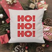Ho Ho Ho Christmas Pillow