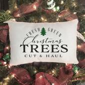Christmas Tree Farm Pillow Cover