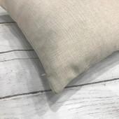 Custom Farmhouse Initial Wreath Pillow