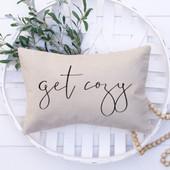 Get Cozy Farmhouse Pillow Cover