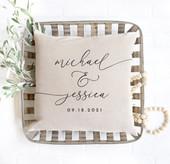 personalized wedding gift idea