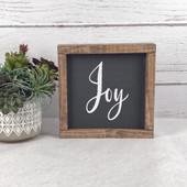 Joy Farmhouse Christmas Decor