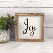 Joy Farmhouse Christmas Decor