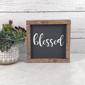 Blessed Farmhouse Sign