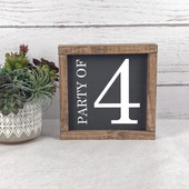 Party of Family Sign Farmhouse Style