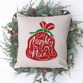 naughty or nice christmas decorations
