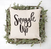 snuggle up throw pillow