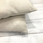 Party of 4 Last Name Custom Farmhouse Pillow