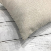 Let's Stay In Bed Farmhouse Pillow