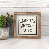Farmhouse Carrot Easter Decor