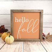 hello fall farmhouse