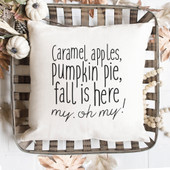 Fall Throw Pillow Cover