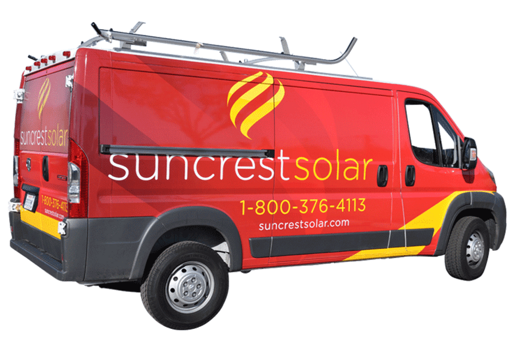 bd049ef02c4ae2 Ram Promaster Van Wrap 3M Vehicle Wrap for Suncrest Solar Fleet ...